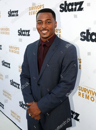 "IMAGE DISTRIBUTED FOR STARZ ENTERTAINMENT - RonReaco Lee arrives at the premiere of the STARZ original series ""Survivor's Remorse"" on in Los Angeles. ""Survivor's Remorse"" premieres Saturday, Oct. 4 exclusively on STARZ"