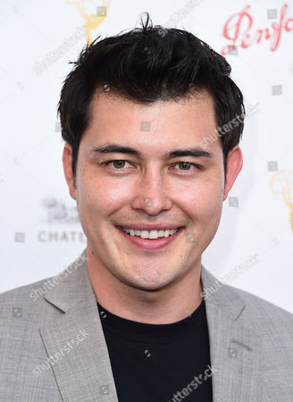 Christopher Sean arrives at the Television Academy's 67th Emmy Performance Peer Group Celebration at the Montage Beverly Hills on in Beverly Hills, Calif