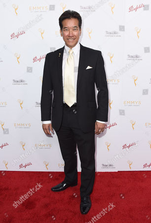Peter Kwong arrives at the Television Academy's 67th Emmy Performance Peer Group Celebration at the Montage Beverly Hills on in Beverly Hills, Calif