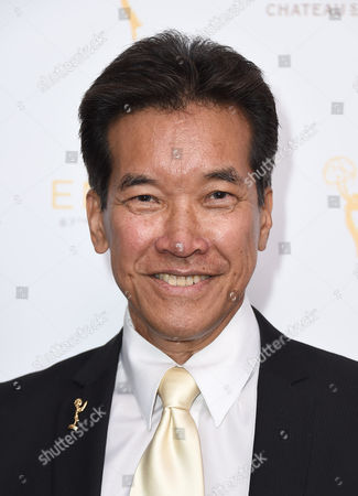 Stock Picture of Peter Kwong arrives at the Television Academy's 67th Emmy Performance Peer Group Celebration at the Montage Beverly Hills on in Beverly Hills, Calif