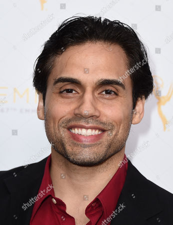 Danny Arroyo arrives at the Television Academy's 67th Emmy Performance Peer Group Celebration at the Montage Beverly Hills on in Beverly Hills, Calif