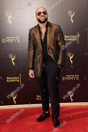 Jim Beanz arrives at night one of the Television Academy's 2016 Creative Arts Emmy Awards at the Microsoft Theater on in Los Angeles
