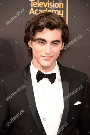 Blake Michael arrives at night one of the Television Academy's 2016 Creative Arts Emmy Awards at the Microsoft Theater on in Los Angeles