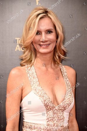 Beth Littleford arrives at night one of the Television Academy's 2016 Creative Arts Emmy Awards at the Microsoft Theater on in Los Angeles