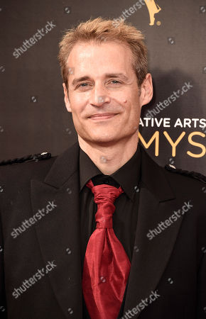 Paul Leonard-Morgan arrives at night one of the Television Academy's 2016 Creative Arts Emmy Awards at the Microsoft Theater on in Los Angeles