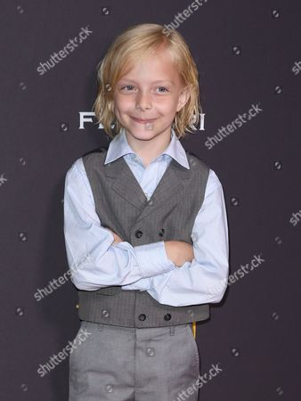 Christian Ganiere arrives at the Television Academy's Performers Emmy Celebration at the Montage Beverly Hills on