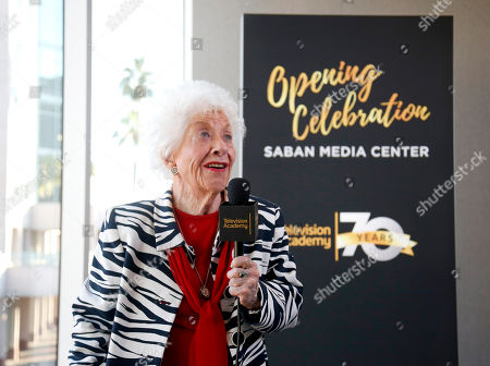 Charlotte Rae attends the Television Academy's 70th Anniversary Gala and Opening Celebration for its new Saban Media Center, in the NoHo Arts District in Los Angeles