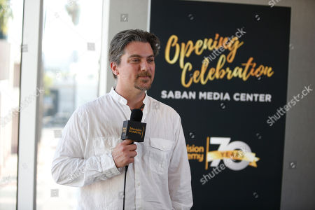 Jeremy Miller attends the Television Academy's 70th Anniversary Gala and Opening Celebration for its new Saban Media Center, in the NoHo Arts District in Los Angeles