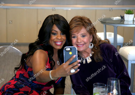 Niecy Nash, left, and Dawn Wells attend the Television Academy's 70th Anniversary Gala and Opening Celebration for its new Saban Media Center, in the NoHo Arts District in Los Angeles