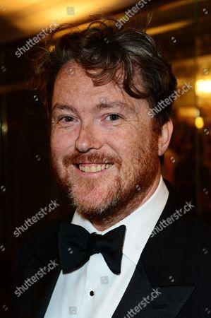 Radio presenter Geoff Lloyd arrives at the 31st Sony Radio Academy Awards at The Grosvenor House hotel, in London