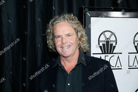 Doug Mitchell poses at the 41st Annual Los Angeles Film Critics Association Awards at the InterContinental hotel on in Los Angeles