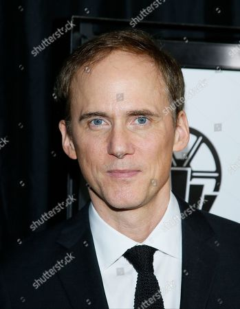"""Actor Neal Huff from """"Spotlight"""" poses at The 41st Annual Los Angeles Film Critics Association Awards at the InterContinental hotel on in Los Angeles"""