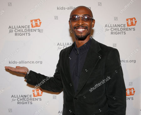 Darris Love attends The Alliance for Children's Rights 21st Annual Dinner at The Beverly Hilton Hotel on in Beverly Hills, California
