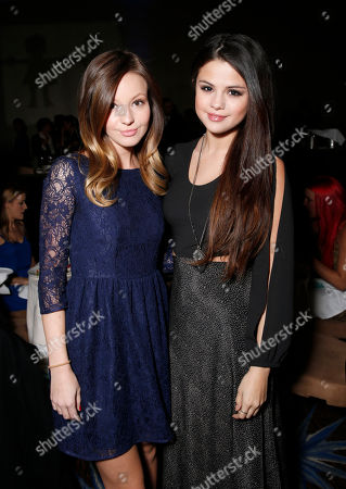 Samantha Droke and Selena Gomez attend The Alliance for Children's Rights 21st Annual Dinner at The Beverly Hilton Hotel on in Beverly Hills, California