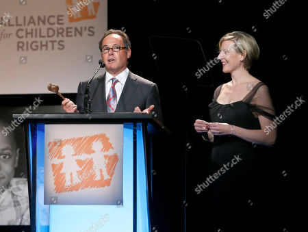 Cliff Gilbert Lurie and Sue Naegle attend The Alliance for Children's Rights 21st Annual Dinner at The Beverly Hilton Hotel on in Beverly Hills, California