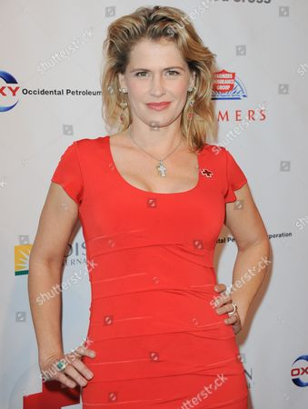Kristy Swanson arrives at the American Red Cross 7th Annual Red Tie Affair at the Fairmont Miramar Hotel on in Los Angeles