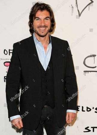 "Victor Alfieri arrives at The Art of Elysium's 6th Annual ""Pieces of Heaven"" art auction at the ACE Museum on in Los Angeles"