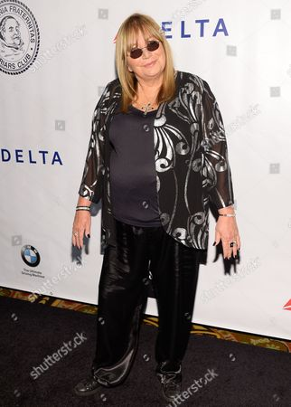 Director Penny Marshall attends The Friars Foundation Gala honoring Robert De Niro and Carlos Slim at The Waldorf-Astoria Hotel, in New York