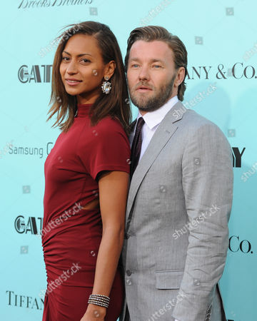 """Stock Image of Actor Joel Edgerton and girlfriend Alexis Blake attend """"The Great Gatsby"""" world premiere at Avery Fisher Hall on in New York"""