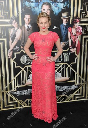 """Stock Picture of Actress Kate Mulvany attends """"The Great Gatsby"""" world premiere at Avery Fisher Hall on in New York"""
