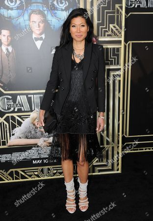 """Monika Chiang attends """"The Great Gatsby"""" world premiere at Avery Fisher Hall on in New York"""
