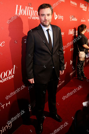 Esteban Crespo arrives at The Hollywood Reporter Nominees Night presented by Cadillac, Bing, Delta, Pandora jewelry, Qua, and Zenith, at Spago, in Beverly Hills, Calif