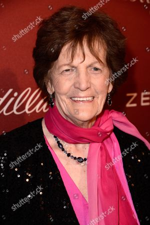 Philomena Lee arrives at The Hollywood Reporter Nominees Night presented by Cadillac, Bing, Delta, Pandora jewelry, Qua, and Zenith, at Spago, in Beverly Hills, Calif