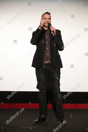 """Director Stephen Kijak seen at The Los Angeles Premiere """"We Are X"""", in Los Angeles, CA"""