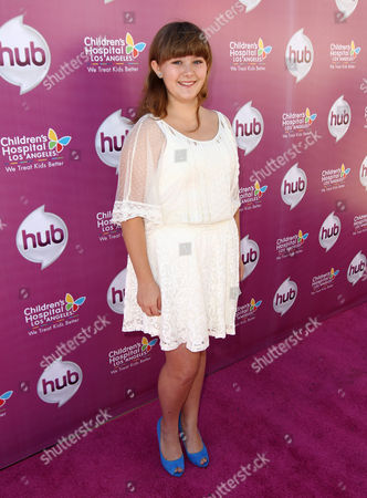 "Ada-Nicole Sanger attends The Hub TV Network's ""My Little Pony Friendship is Magic"" Coronation Concert at the Brentwood Theatre, in Los Angeles in support of Children's Hospital LA"