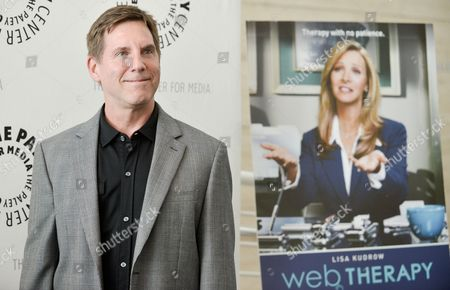 "Tim Bagley arrives at ""An Evening with Web Therapy:The Craze Continues..."" at The Paley Center For Media on in Los Angeles"