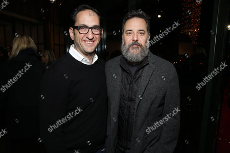 Greg Silverman, President, Creative Development and Worldwide Production, Warner Bros. Pictures and Mark Romanek seen at The Los Angeles Premiere of Warner Bros. Pictures' 'Her', on Thursday, Dec. 12th, 2013 in Los Angeles