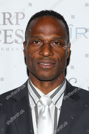 Former football player Willie Gault attends Tommy Davidson's 50th birthday celebration at H.O.M.E. on in Beverly Hills, California