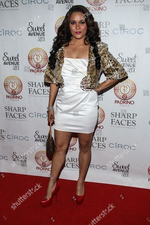 Actress Alisa Reyes attends Tommy Davidson's 50th birthday celebration at H.O.M.E. on in Beverly Hills, California