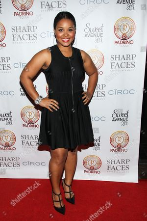 Actress Mechelle Epps attends Tommy Davidson's 50th birthday celebration at H.O.M.E. on in Beverly Hills, California