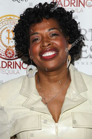 Actress Adele Givens attends Tommy Davidson's 50th birthday celebration at H.O.M.E. on in Beverly Hills, California