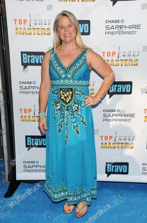 """Stock Image of Chef Jennifer Jasinski attends """"Top Chef Masters"""" Season 5 Premiere Tasting Event presented by Chase Sapphire Preferred and Bravo at 82 Mercer on in New York"""