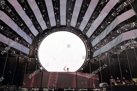 Nick van de Wall aka Afrojack performs at the Ultra Music Festival at Bayfront Park, on in Miami, Florida