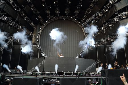 Stock Picture of Nick van de Wall aka Afrojack performs at the Ultra Music Festival at Bayfront Park, on in Miami, Florida