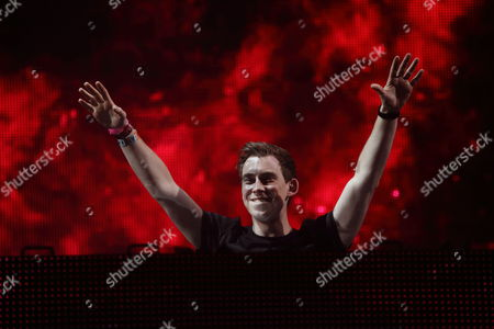 Stock Picture of Robbert van de Corput aka Hardwell performs at the Ultra Music Festival at Bayfront Park, on in Miami, Florida