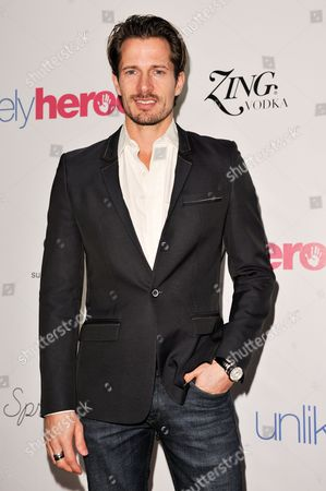 Lane Carlson arrives at the Unlikely Heroes Red Carpet Spring Benefit, in Los Angeles