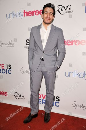 Kenny Florian arrives at the Unlikely Heroes Red Carpet Spring Benefit, in Los Angeles