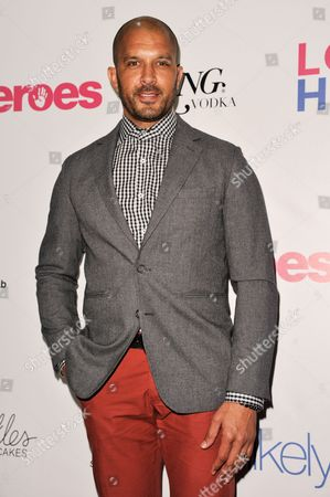 Stock Picture of Terrell Tilford arrives at the Unlikely Heroes Red Carpet Spring Benefit, in Los Angeles