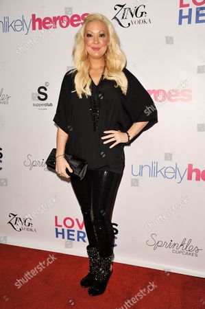 Katie Cazorla arrives at the Unlikely Heroes Red Carpet Spring Benefit, in Los Angeles