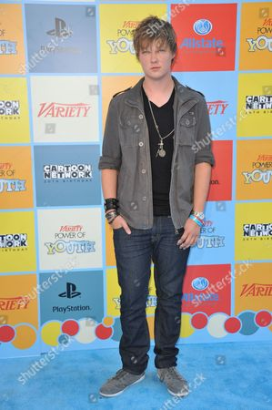 Austin Anderson attends Variety Power of Youth at Paramount Studios, in Los Angeles