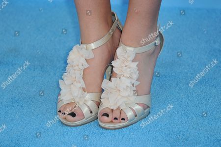 Rachel G. Fox (shoe detail) attends Variety Power of Youth at Paramount Studios, in Los Angeles