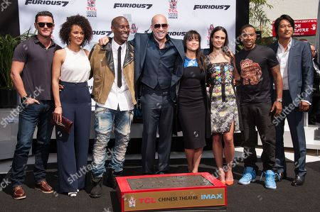 Editorial photo of Vin Diesel Hand And Footprint Ceremony, Los Angeles, USA