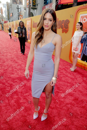 """Murielle Telio seen at Warner Bros. Premiere of """"The Nice Guys"""" at TCL Chinese Theatre, in Los Angeles"""