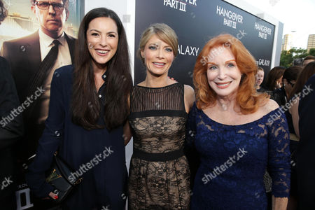Sasha Barrese, Gillian Vigman and Sondra Currie arrive at Warner Bros. Premiere of The Hangover: Part III, on Monday, May, 20, 2013 in Los Angeles