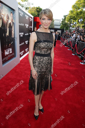 Gillian Vigman arrives at Warner Bros. Premiere of The Hangover: Part III, on Monday, May, 20, 2013 in Los Angeles
