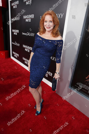 Sondra Currie arrives at Warner Bros. Premiere of The Hangover: Part III, on Monday, May, 20, 2013 in Los Angeles